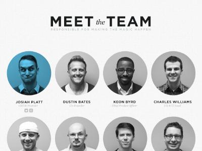 Symfono Meet The Team Organizational Chart Design Conference Design Meet The Team