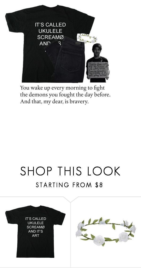 """""""you love who you love"""" by punk-rock-dreamer ❤ liked on Polyvore featuring Accessorize and Paige Denim"""