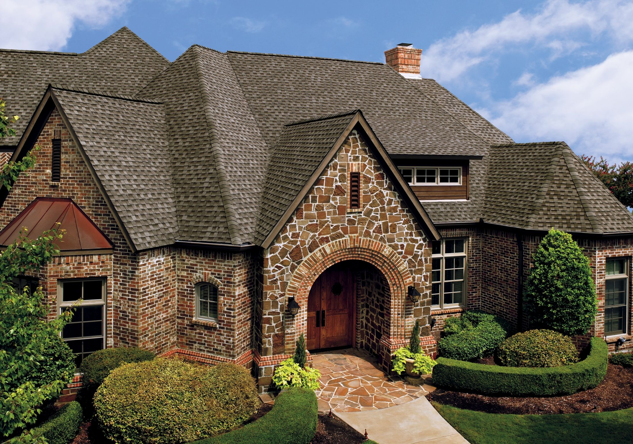 GAF Timberline HD Shingles In Weathered Wood   For More Roofing Options  Visit Http:/
