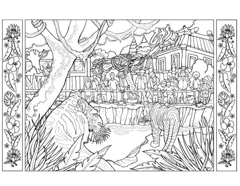 Coloring Picture Zoo York Lowen Malvorlagen Malvorlagen Tiere Vogel Malvorlagen