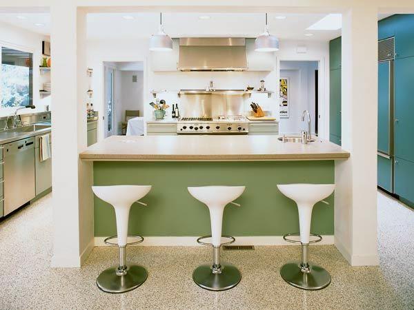 Photos Retro Kitchen Design Ideas Https Wp Me P8owwu 1tc Modern Retro Kitchen Retro Kitchen Kitchen Bar Design