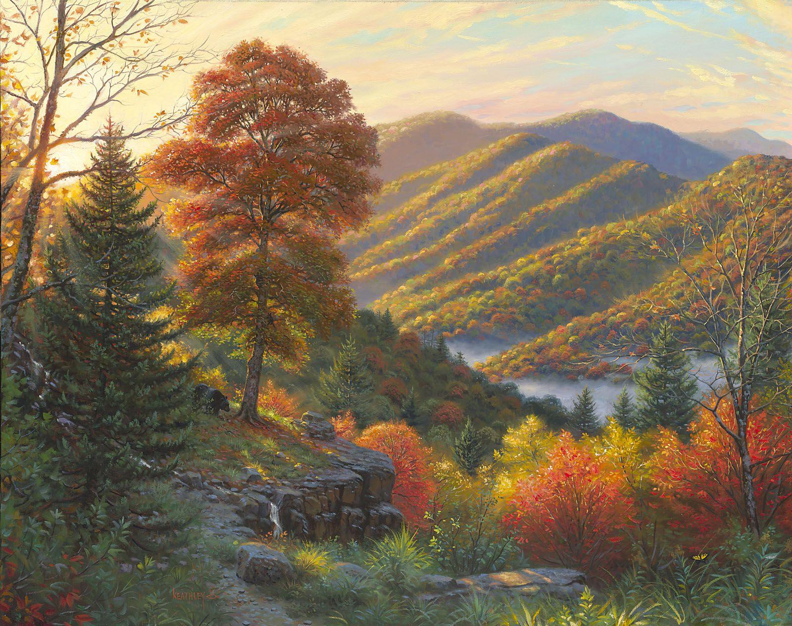 Newfound Memories Mark Keathley Great Smoky Mountains In Autumn Art Of