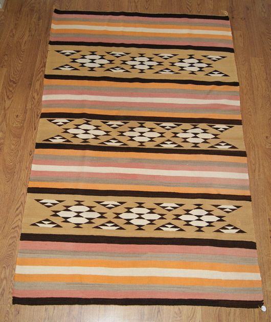 Historic Chinle Navajo Rug Weaving For Sale Photo 1, Click Photo for a Large View, Click Your Back Button to Return