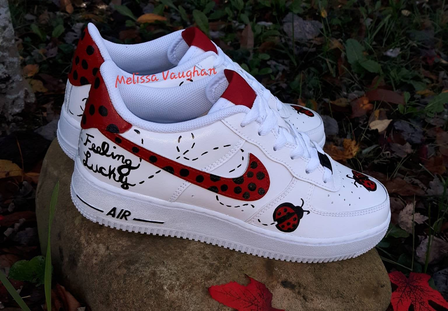 Custom Luckybugs Nike Air Force 1 in 2020 | Nike air force