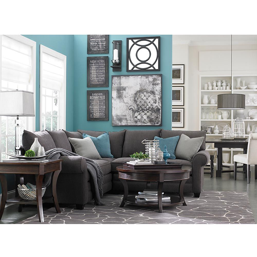 Missing product for the home grey sectional sofa - Grey and blue living room furniture ...