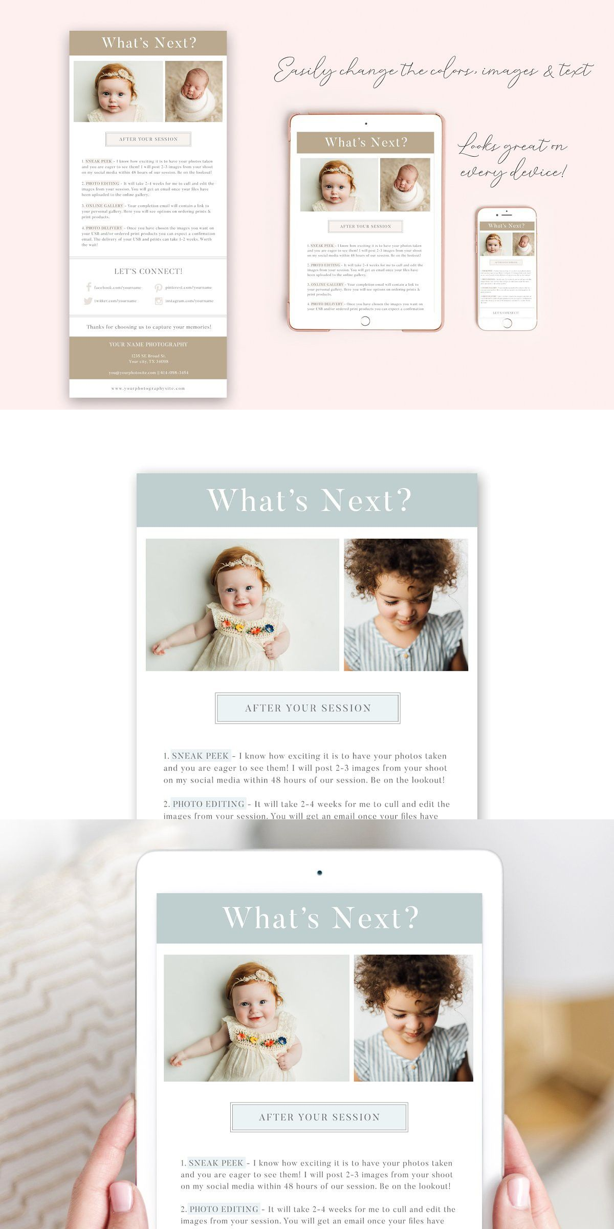 Photography Email Template Email Templates Photography Flyer Photography