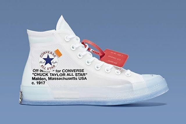 bd4fc0b29433 Off-White x Converse Chuck 70  stomperkicks  sneakers  kicks  kickstagram   offwhite  converse  StomperKicks  SK