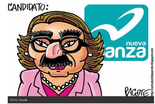 #CosasFeas... Elba Esther Gabriel Quadri Gordillo del PRI... *Asquito*!!!