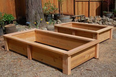 getting excited for the cedar garden boxes we are going to build uses cedar fence pickets