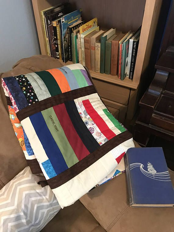 Bookshelf Quilt Bookcase Quilt Book Lovers Gift Book Shelf Quilt Unique Book Lovers Throw Blanket