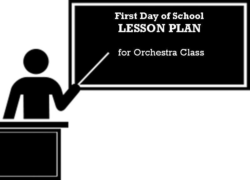 A Peek At My First Day Of School In Orchestra Class  Music