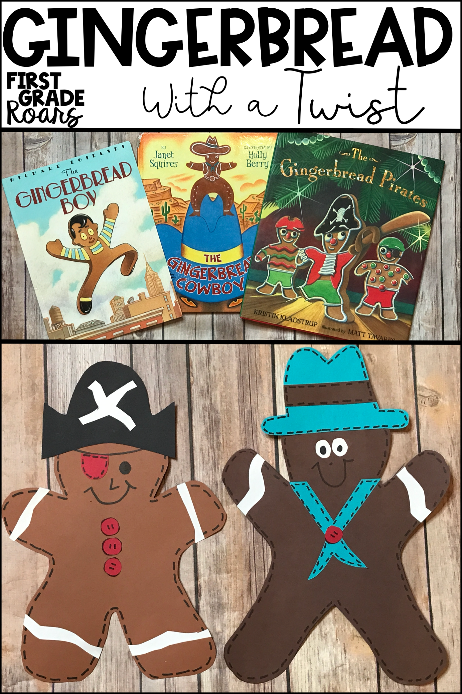 Gingerbread Cowboy Gingerbread Pirates And Gingerbread Boy