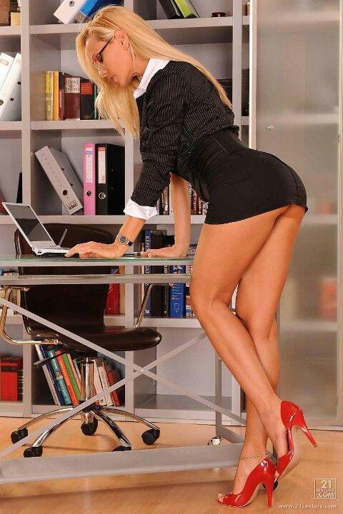 Pinterest secretary heels