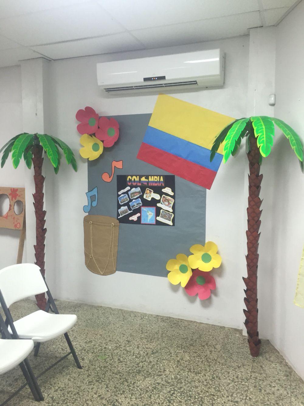Colombia Classroom Bulletin Boards Classroom Bulletin