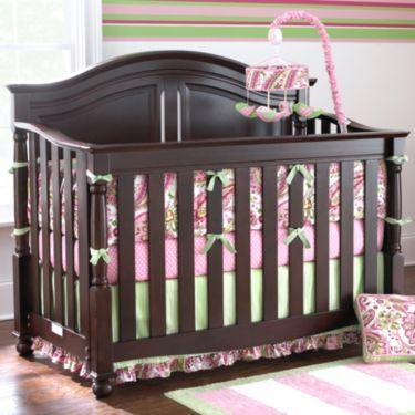 Bedford Baby Monterey Chocolate Convertible Crib - JCPenney
