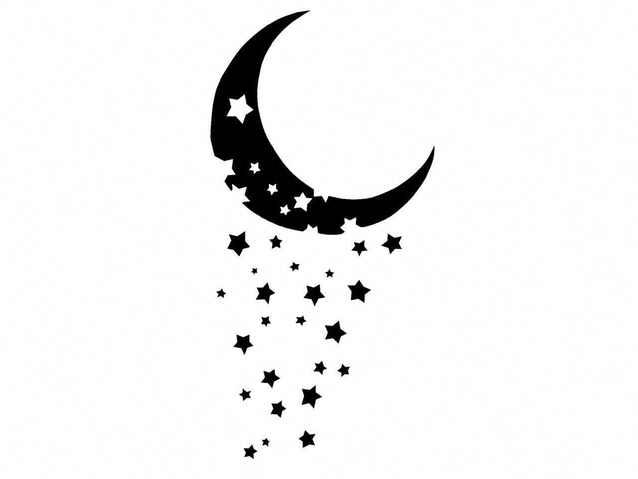Crescent Moon Designs Google Search Legtattoos Star Tattoos Star Tattoo Designs Moon Tattoo Designs