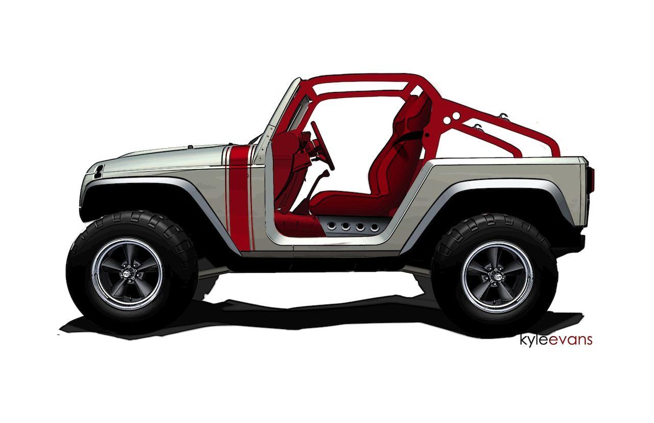 Jeep Wrangler Pork Chop I Want Jeep Concept Jeep Wrangler