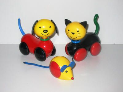 Hot Dog, Sniffer Mouse & Cool Cat by Ambi Toys | My Baby ... | 400 x 300 jpeg 12kB