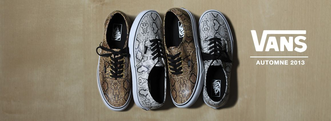 Vans Authentic Snake Skin Pack  sneakers  769f450a53