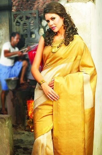 Kerala Christian Wedding Saree You Will Fall In Love With ...