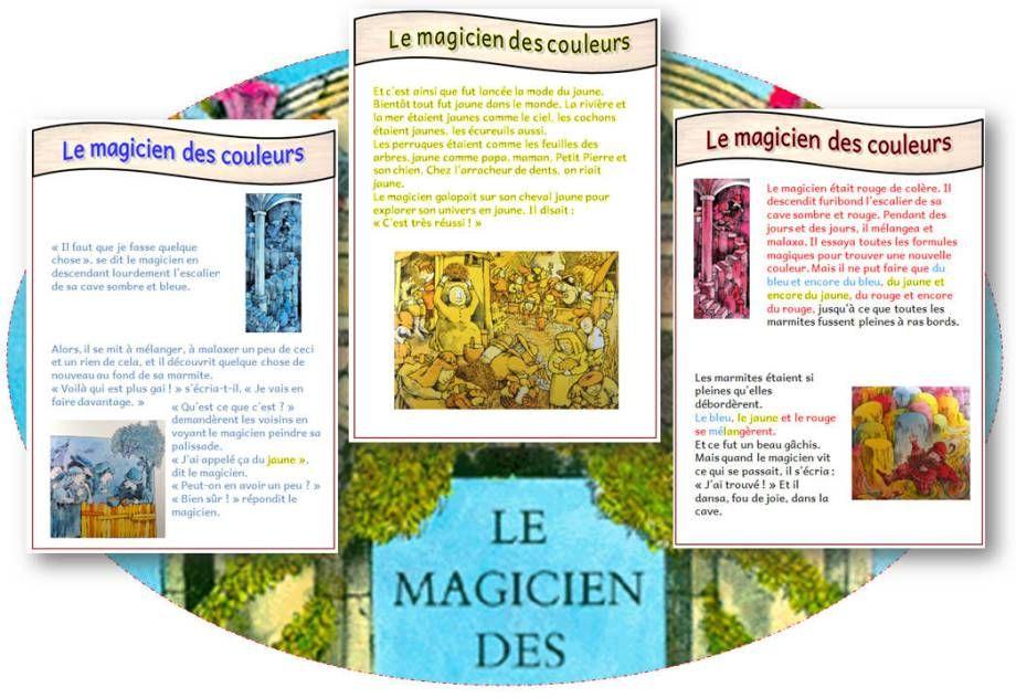 Tapuscrit Le Magicien Des Couleurs Lecture Du Soir Révisions Le Magicien Des Couleurs Magicien Lecture