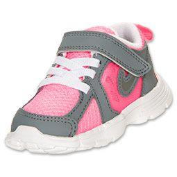 Girls' Toddler Nike Dual Fusion Run Running Shoes | FinishLine.com | Dark  Grey
