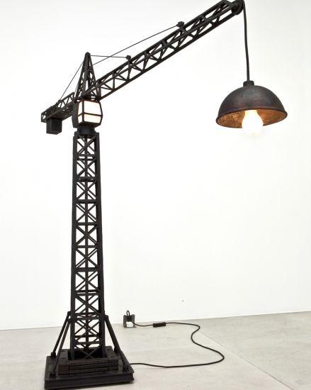 Crane Lamp By Studio Job Carpenterworkshopgallery Com 2010