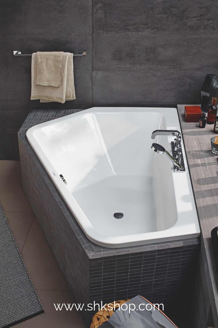 Duravit Badewanne Paiova 5 Ecke Links 177x130cm 700390 Weiss 177x130cm Badewanne Diybathroomrem Bathtub Design Modern Bathroom Remodel Bath Tub For Two
