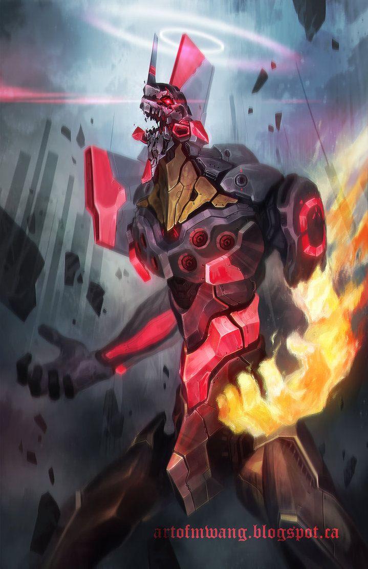 Neon Genesis Evangelion Unit 01 Berserk