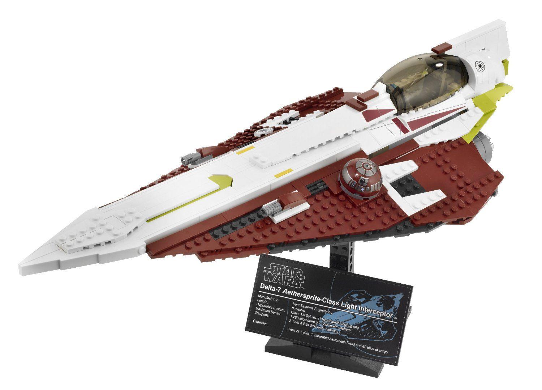 Amazon.com: LEGO® Star Wars Obi-Wan's Jedi Starfighter (10215): Toys & Games