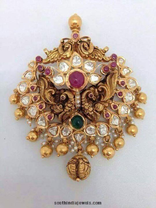 Gold antique pendant design pendants collections pinterest gold antique pendant design aloadofball Image collections