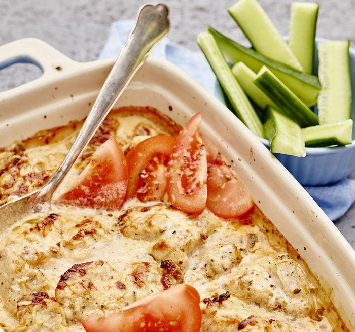 Oreganogratinerad Kyckling Recept Recept Enkel Matlagning