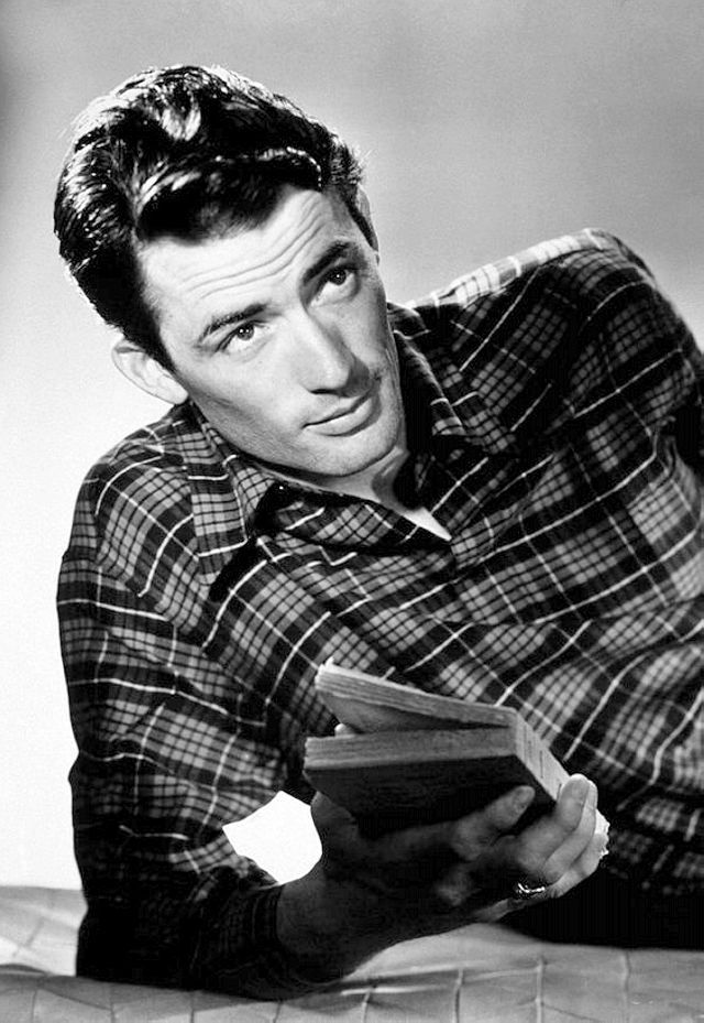 We Had Faces Then — Gregory Peck, 1945