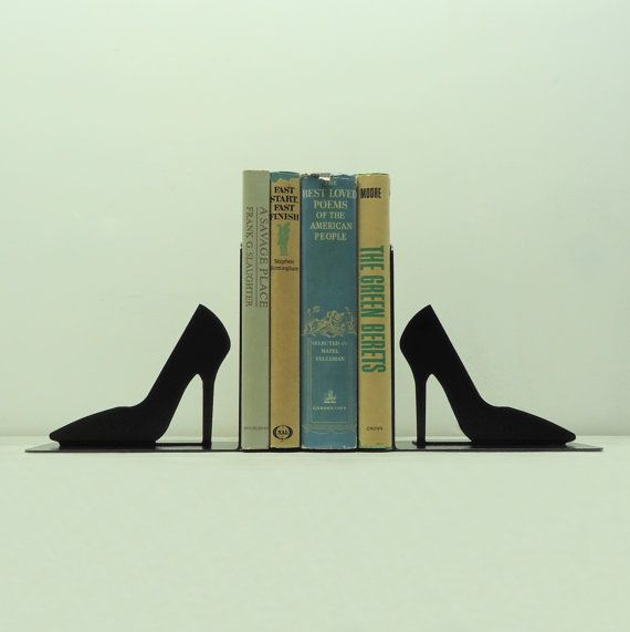 Hey, I found this really awesome Etsy listing at https://www.etsy.com/listing/156999554/stiletto-metal-art-bookends-free-usa