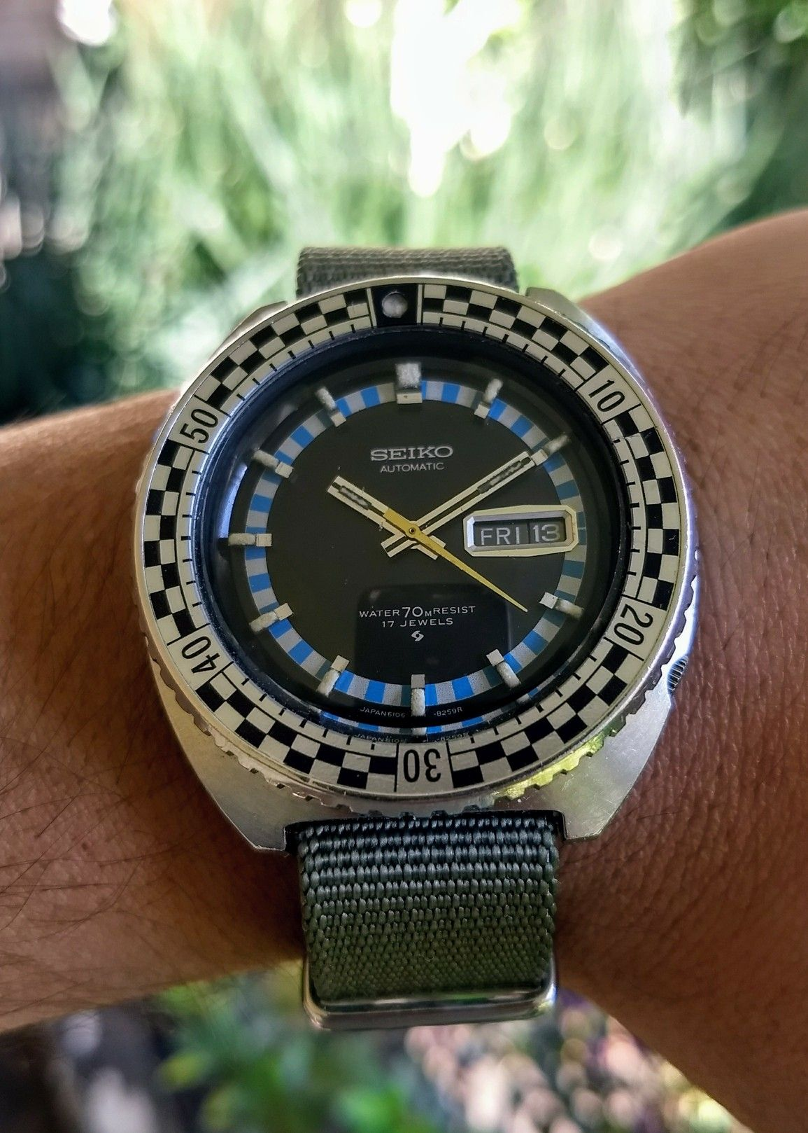 Seiko Rally Diver 6106-8229 | Vintage Watches | Pinterest
