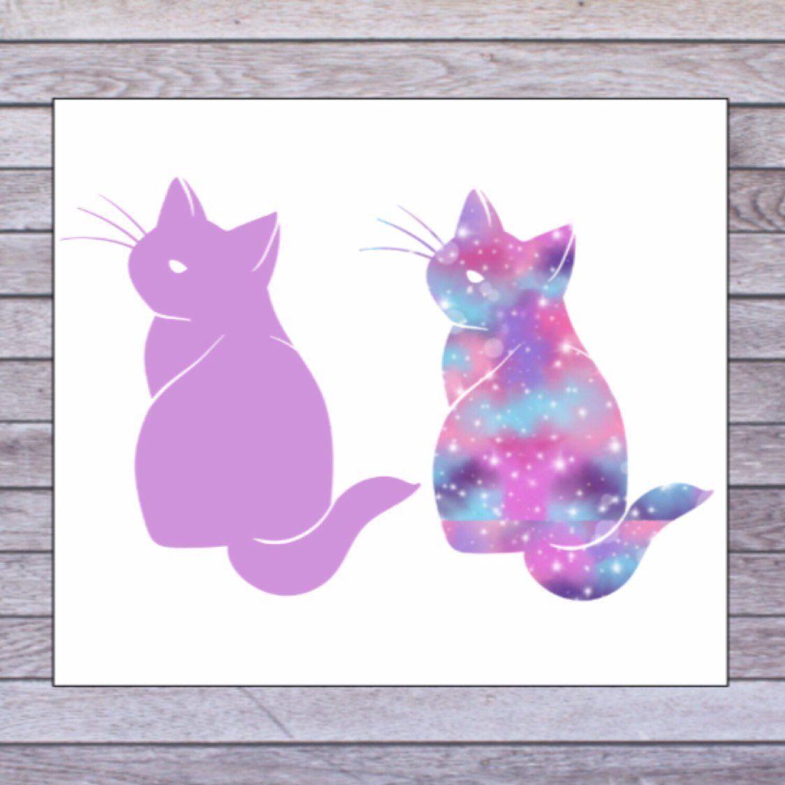 Cat Laptop Decal Cat Sticker Cat Mom Decal Cat Cup Decal Etsy Cat Decal Cat Stickers Vinyl Decals