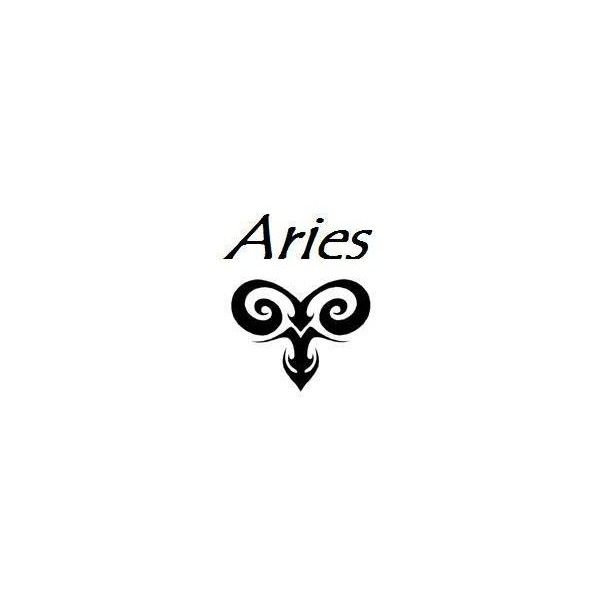 Aries Tattoo Designs Found On Polyvore Tattoo Piercing Love