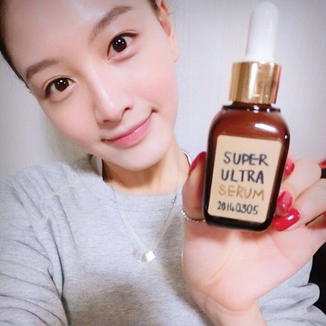 _kimjaekyung_'SUPER ULTRA SERUM' made by JK! I made it for my skin:-) #jaekyung #천연화장품