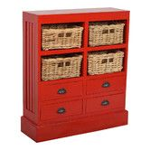 Found it at Wayfair - Nantucket 4 Basket and 4 Drawer Cabinet