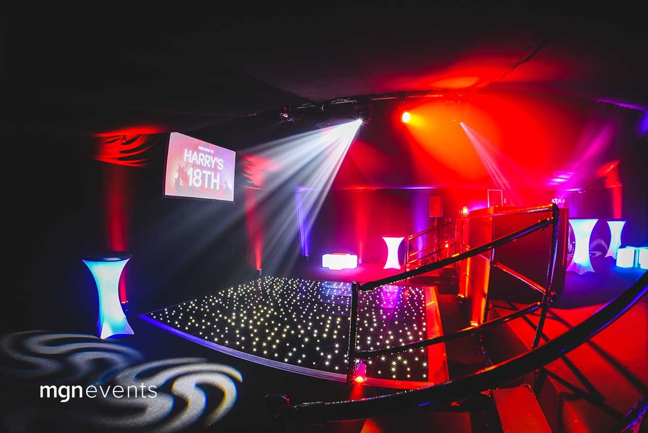 Our Event Management Case Studies Mgn Events 18th Birthday Party Event Management Led Dance