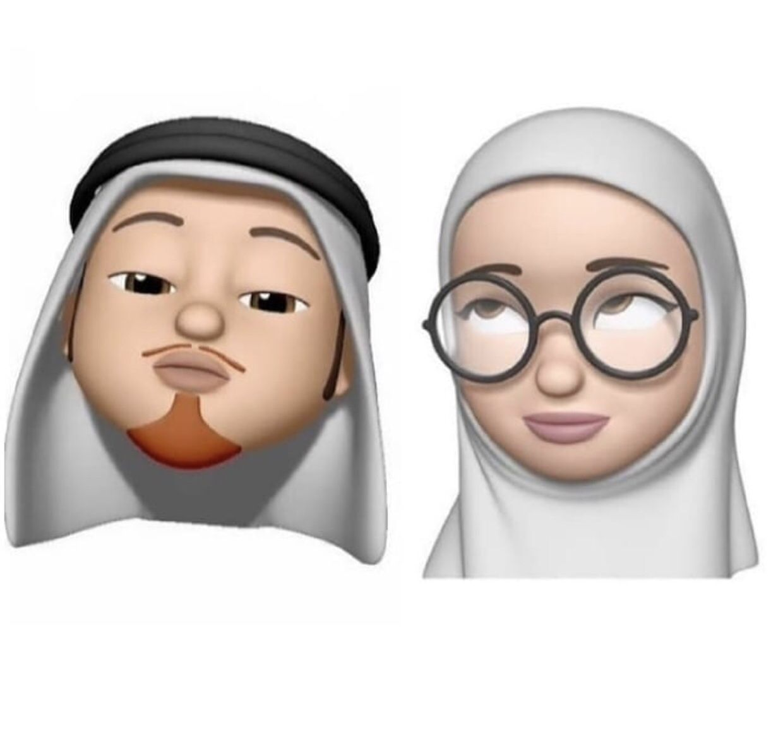 Pin Oleh Gulya Di Emodji Seni Islamis Animasi Lucu