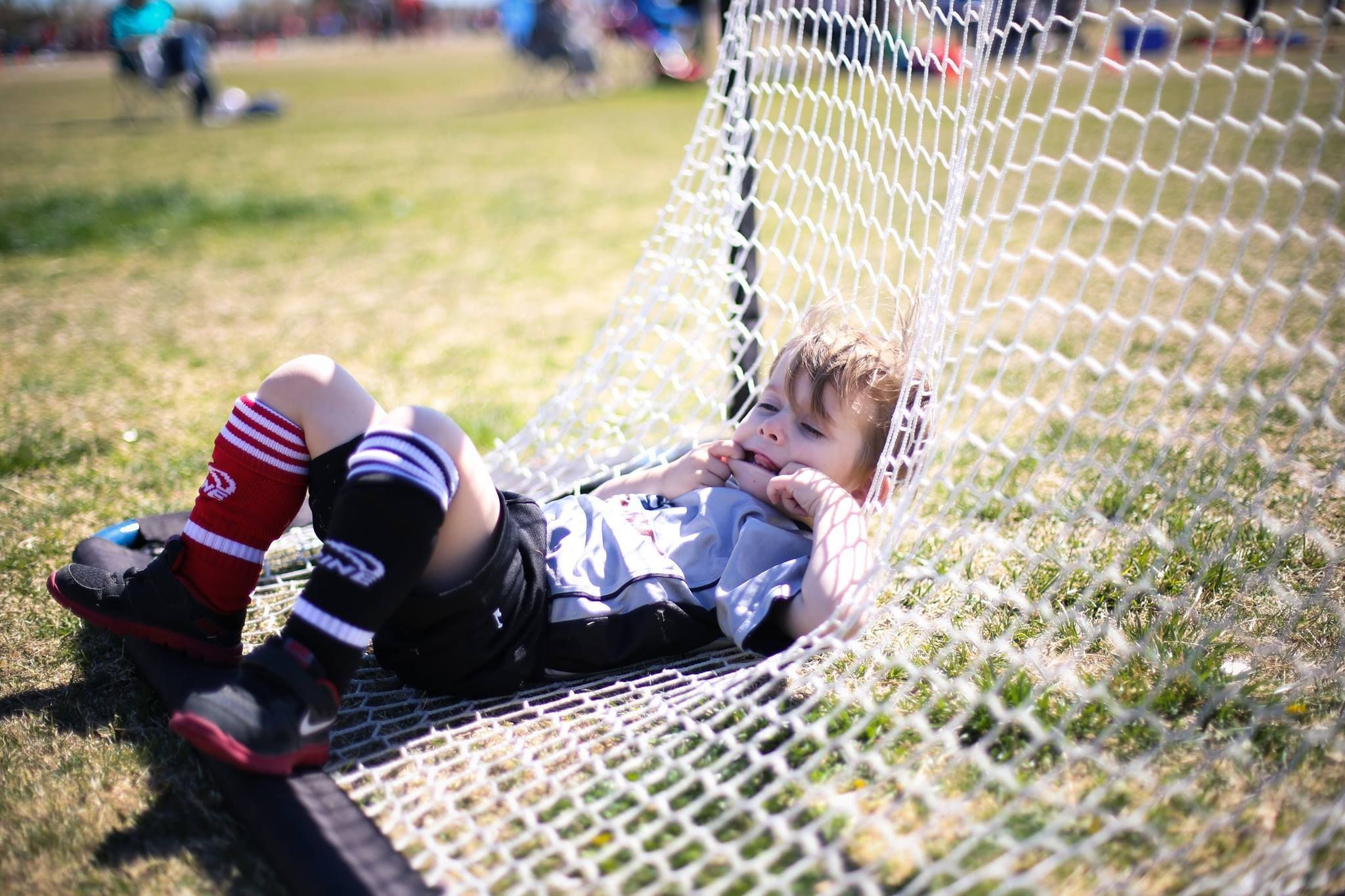 Taking a break from all the i9sports fun youth sports