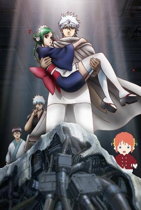 Gintama Episode 168 170 Leukocyte King Tama Sakata Gintoki