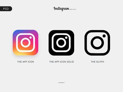 Instagram Logo Free Psd Logo Instagram Aplikasi Ikon Aplikasi