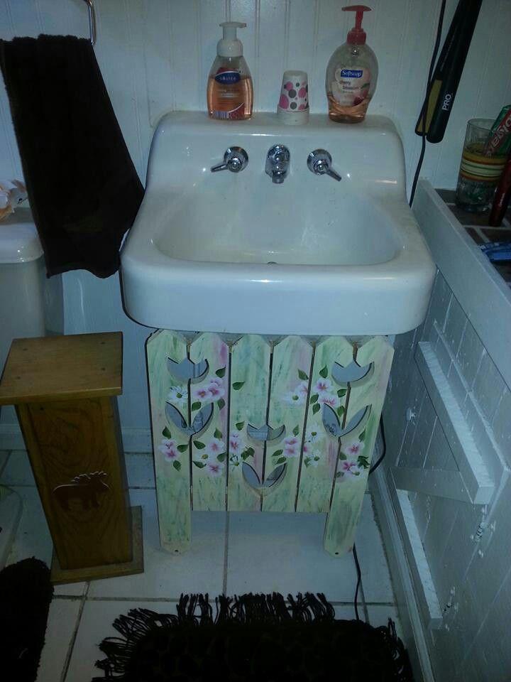Pin By Wendy Van Alstyne On My Crafts Under Bathroom Sinks