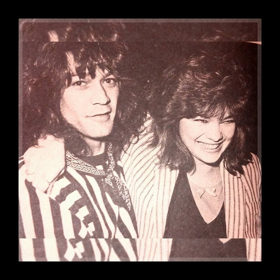 Eddie Valerie Eddie Van Halen Van Halen Cool Bands