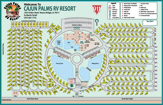 Cajun Palms Best Sites To Stay At With Images Rv Road Trip