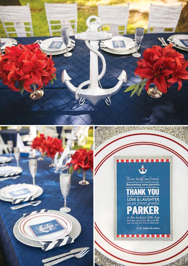 Pin By Champagne Linen Als On Nautical Theme Table