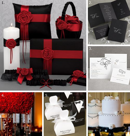 my wedding red black white on pinterest red black red roses and. Black Bedroom Furniture Sets. Home Design Ideas
