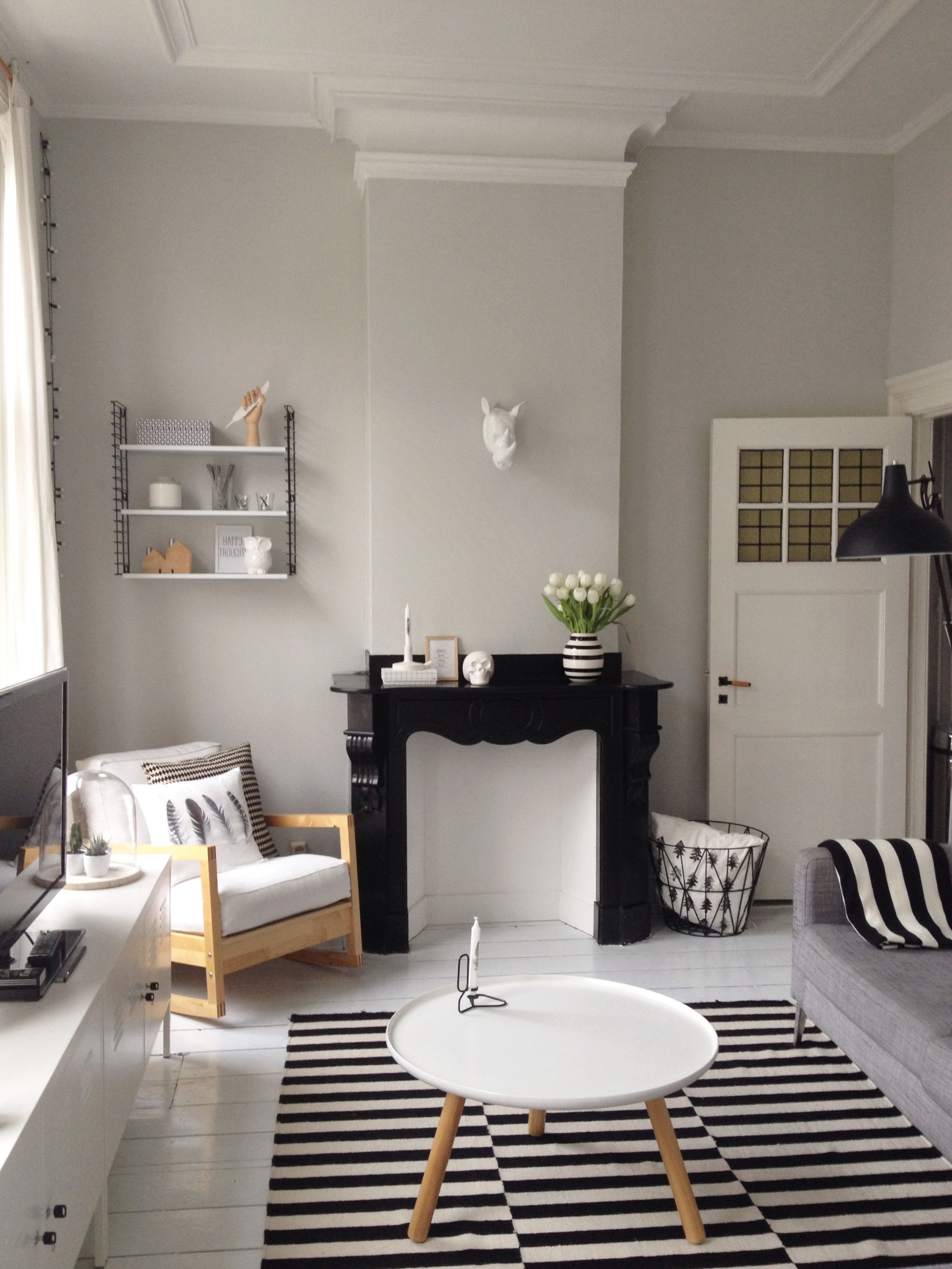 jaren 20 woning - inspiratie woonkamer | Pinterest - Kleine ...